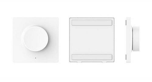 Xiaomi. Беспроводной выключатель-диммер Yeelight Xiaomi Dimmer Wireless Switch (YLKG08YL)