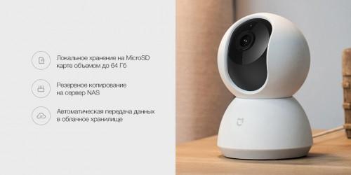 Xiaomi. IP-камера Mijia Smart Camera 360 1080р (MJSXJ02CM) (версия PTZ)
