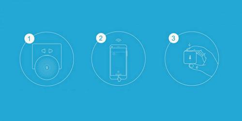 Xiaomi. Датчик температуры и влажности Aqara Temperature Humidity Sensor