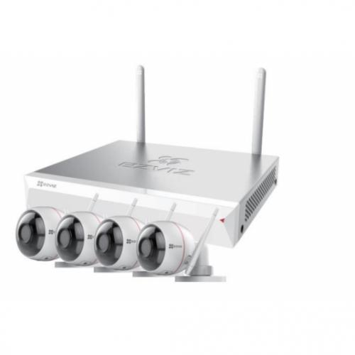 Ezviz. Набор 8-ми канальный Wi-Fi NVR + Husky Air 1080p ezWireLessKit 8CH
