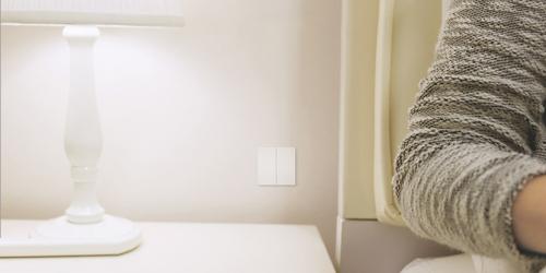 Xiaomi. Умный выключатель Aqara Smart Wall Switch (двойной, без нулевой линии) (QBKG03LM)