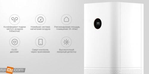 Xiaomi. Очиститель воздуха Xiaomi Mi Air Purifier Pro