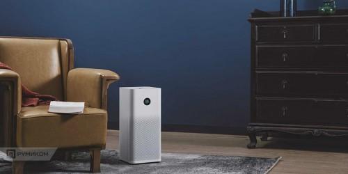 Xiaomi. Очиститель воздуха Xiaomi Mi Air Purifier 2S (белый)