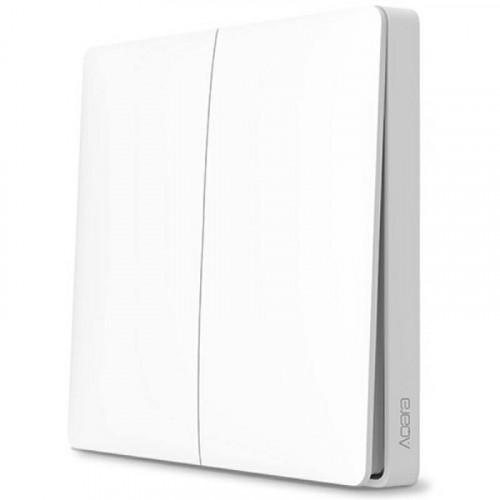 Xiaomi. Беспроводной выключатель Aqara Smart Light Switch (двойной) (WXKG02LM)