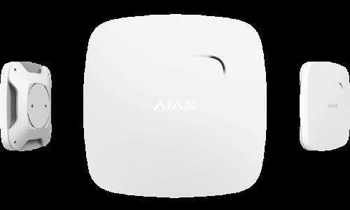 Ajax. Беспроводной дымо-тепловой датчик FireProtect