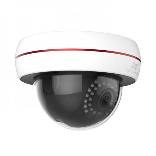 Ezviz. 2Мп внешняя купольная Wi-Fi камера C4S (PoE)