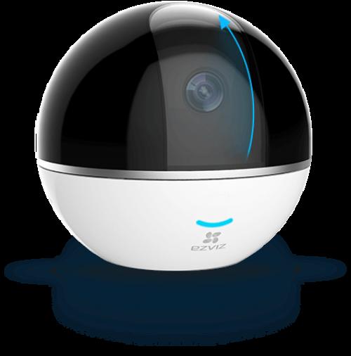 Ezviz. 2Мп внутренняя поворотная 360° Wi-Fi камера C6T