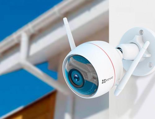 Ezviz. 1Мп внешняя Wi-Fi камера Husky Air 720p (4 мм)