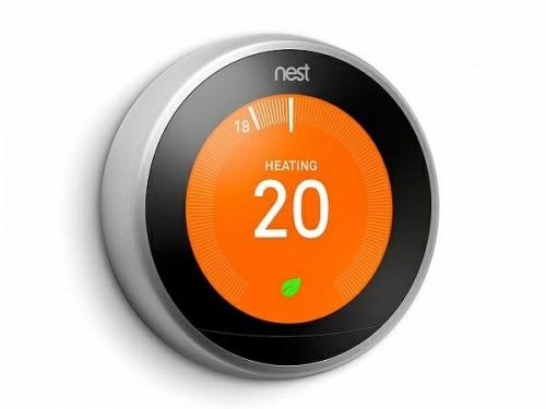 Nest. Беспроводной термостат Nest Learning Thermostat 3.0 Белый (T3017US)