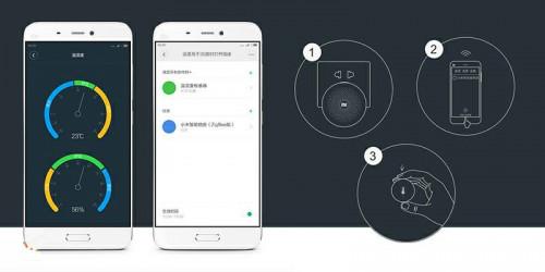 Xiaomi. Датчик температуры и влажности Mi Temperature and Humidity Sensor