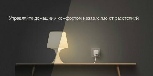 Xiaomi. Умная Wi-Fi розетка Mi Smart Power Plug  Socket (без USB) (ZNCZ02CM)